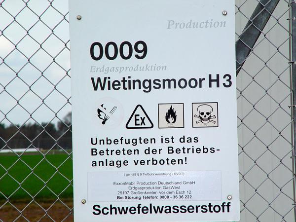 gefahren erdgas im grundwasser